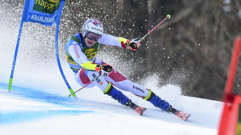 Ski alpin: doublé suisse au géant de Kranjska Gora, Odermatt l'emporte devant Meillard