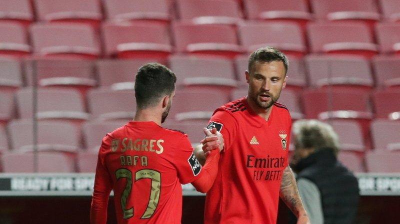 Football – Portugal: Seferovic en grande forme