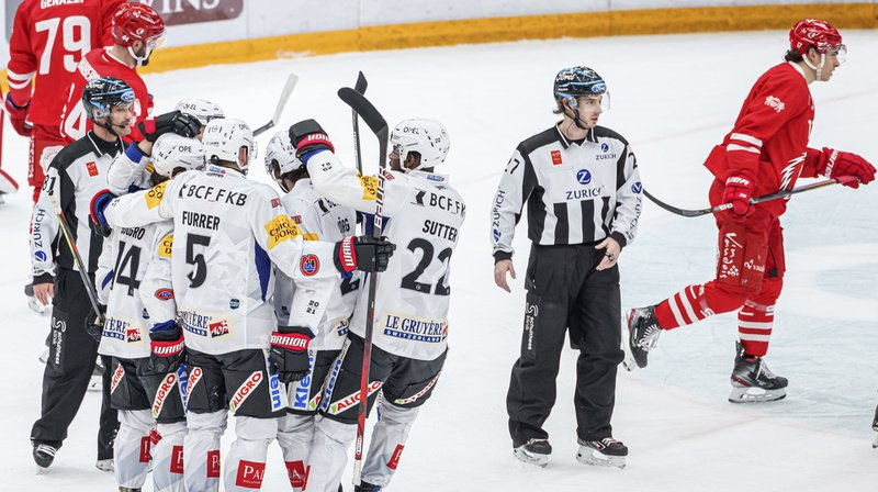 Hockey – National League: Fribourg bat Lausanne, Bienne gifle Genève-Servette