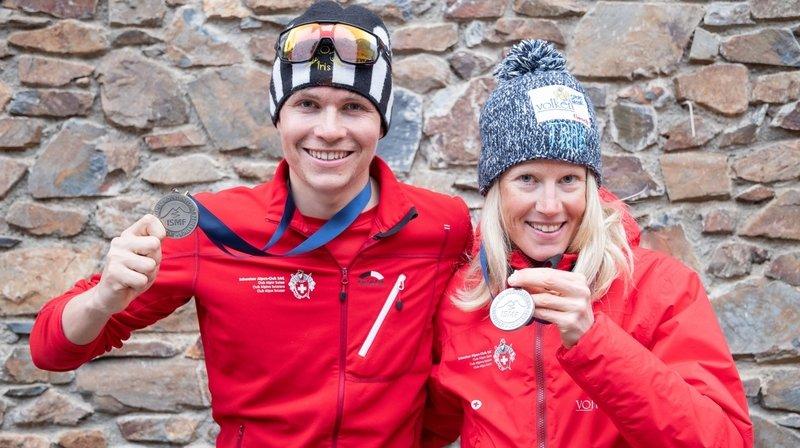 L'argent contribue au bonheur d'Aurélien Gay et Victoria Kreuzer aux Mondiaux de ski-alpinisme