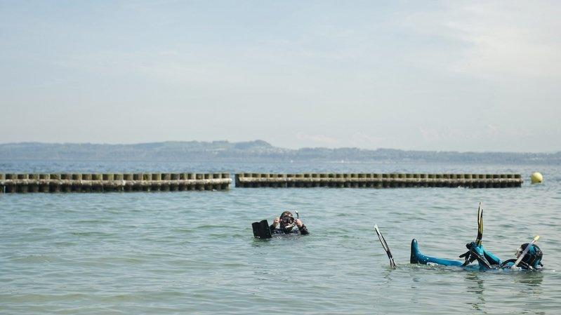 L'accident s'est déroulé au large de la plage de Boudry, lieu très fréquenté des plongeurs (image d'illustration).