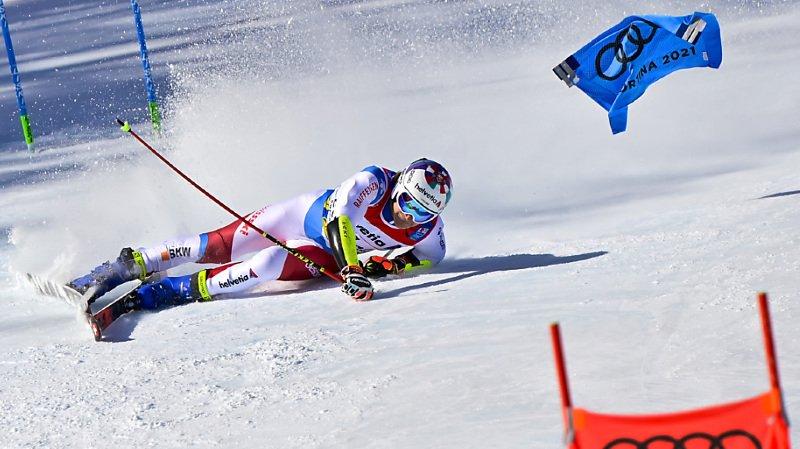 Ski alpin – Mondiaux de Cortina: Loïc Meillard seul rescapé de la débâcle helvétique au Géant