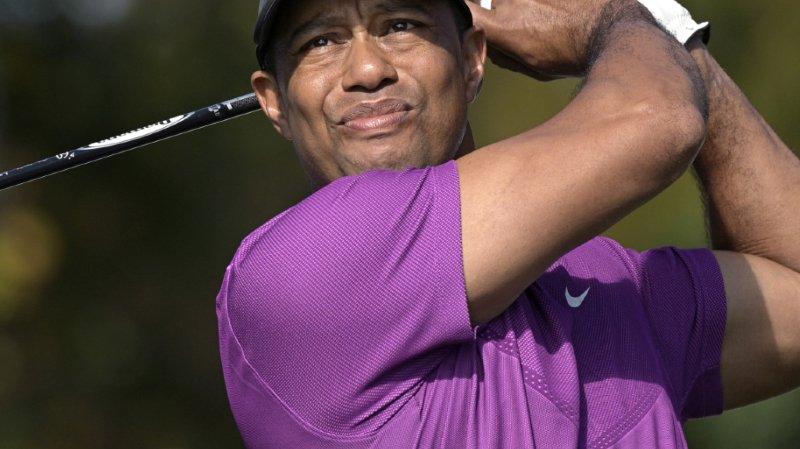 Etats-Unis: Tiger Woods victime d'un accident de la route à Los Angeles