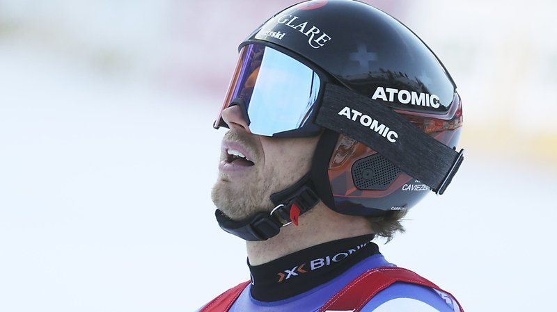 Ski alpin: fin de saison pour Mauro Caviezel
