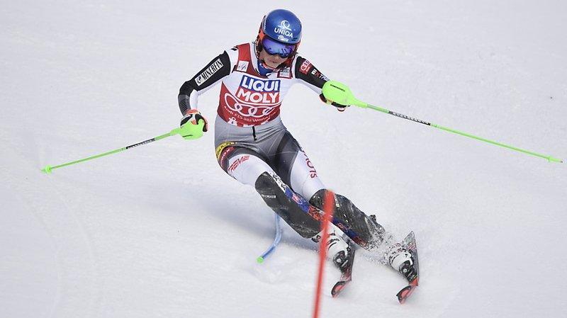 Ski alpin – 1ère manche du slalom d'Are: Petra Vlhova devant, Suissesses à l'affût