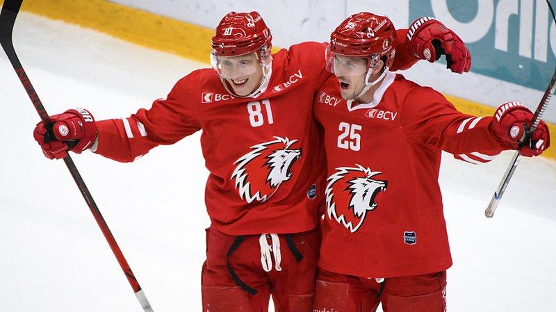 Hockey: Lausanne respire un peu, Bienne gagne toujours
