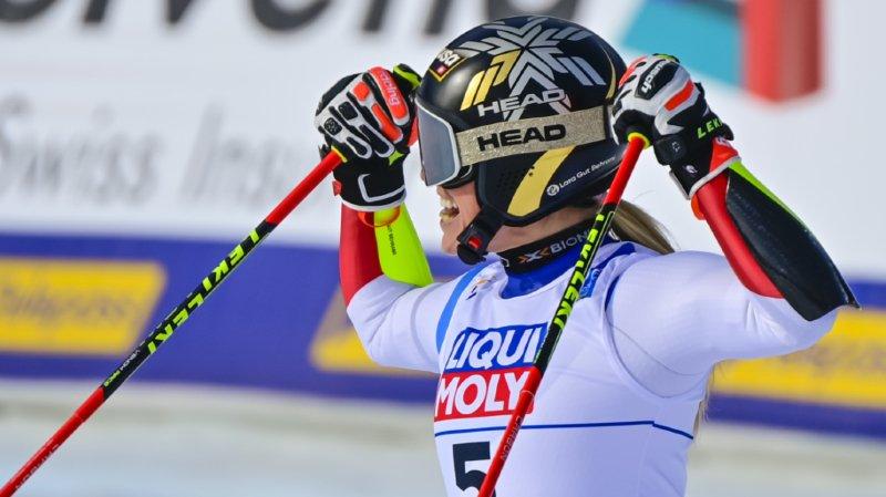 Lara Gut-Behrami a déjà retrouvé la Coupe du monde après ses exploits de Cortina.