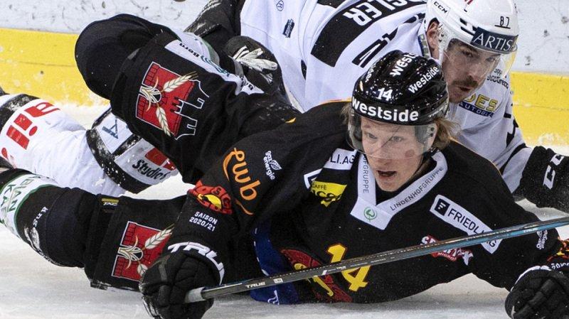 Hockey: Lugano poursuit sa série et Lugano bat un Berne héroïque en prolongation