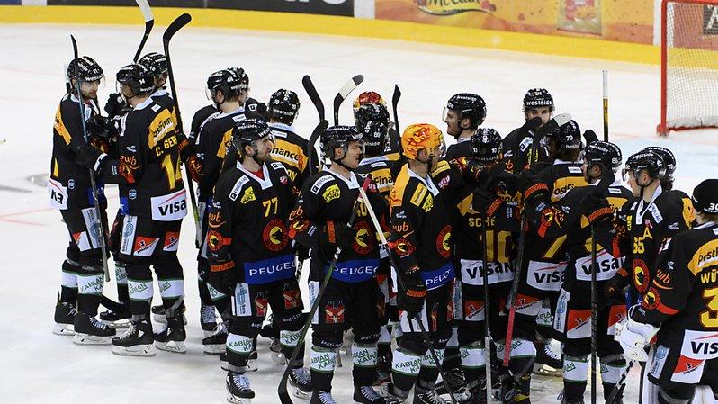 Hockey: Genève s'incline encore à Berne, Bienne domine Lugano