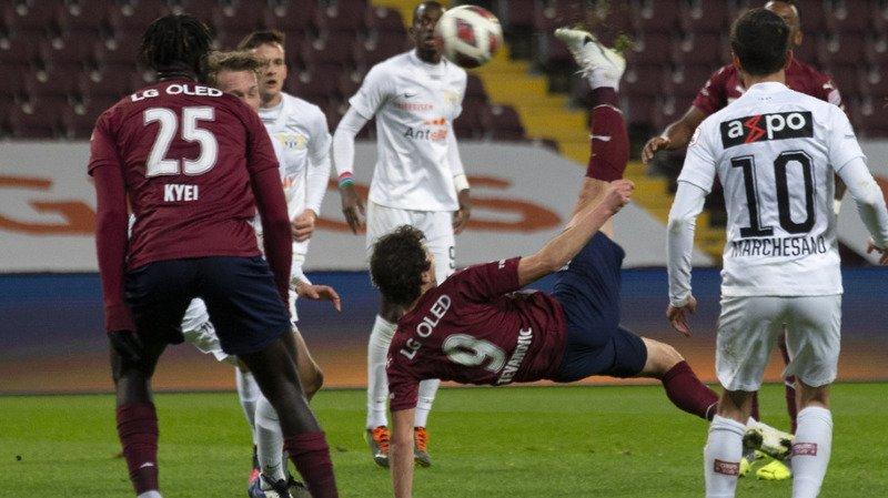 Football – Super League: Servette en patron face à Zurich, Saint-Gall vainqueur de Bâle