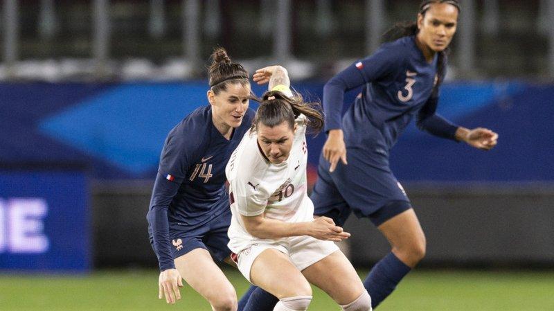 La Suisse de Ramona Bachmann a réalisé une prestation honorable contre la France.