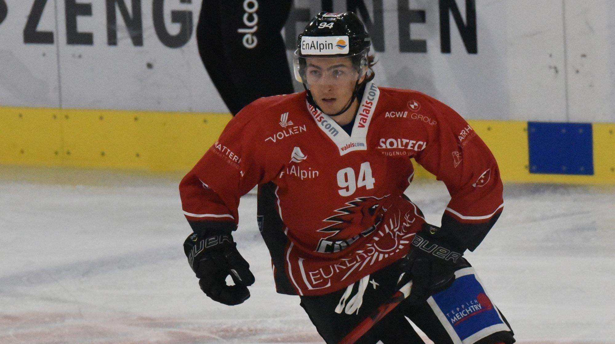Hockey: Makai Holdener, ambitieux comme le HC Viège