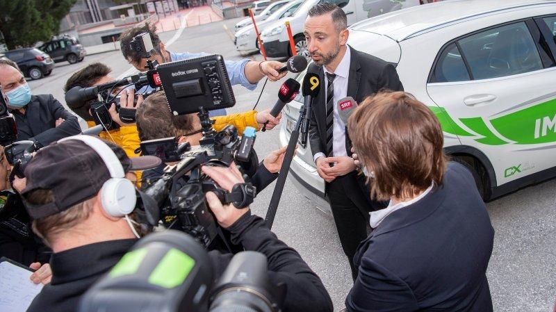 Conseil d'Etat: Frédéric Favre ne veut pas crier victoire