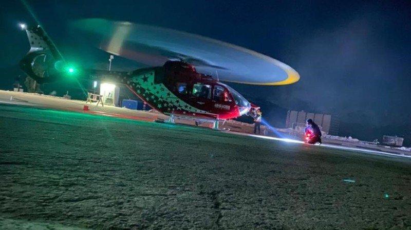 Une opération de secours particulière à Crans-Montana