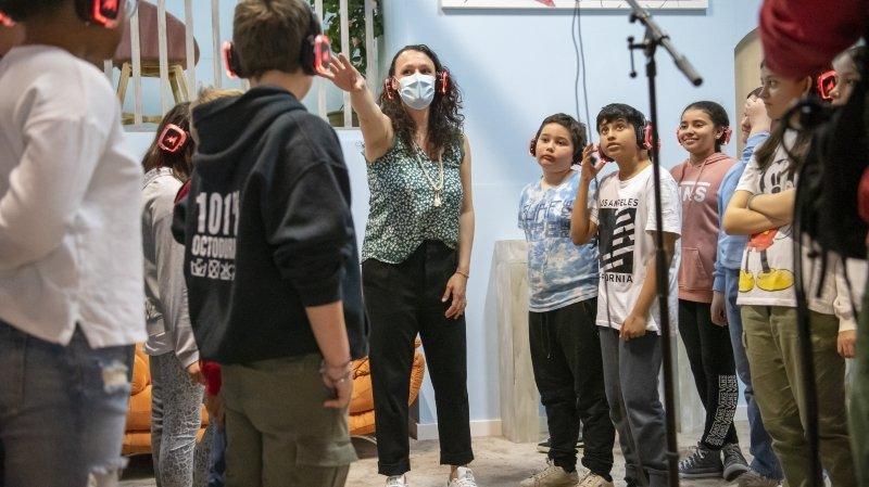 Martigny: la caméra de Mélanie Pitteloud met l'égalité à hauteur d'enfant