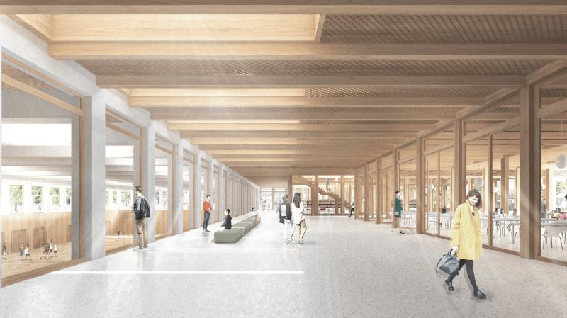 Les travaux de ce futur gymnase devraient débuter en septembre 2022.