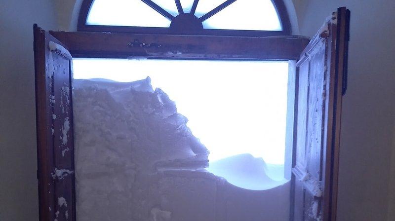 Grand-Saint-Bernard: 1,11 mètre de neige en trois jours