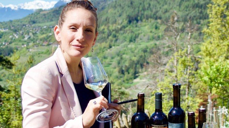 Mélissa Tarlier propose quatre vins à chaque séance vidéo.