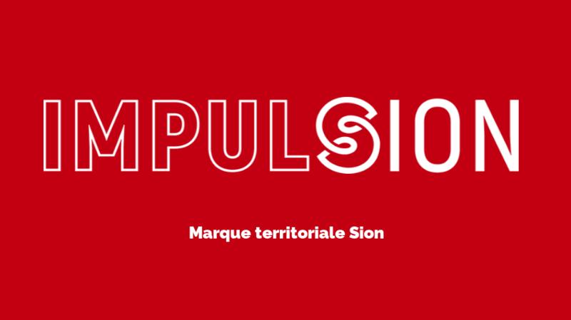 Pour promouvoir ses acteurs locaux, Sion mise sur un logo étranger