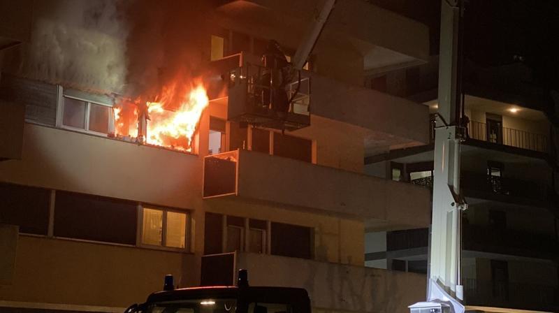 Monthey: un appartement a pris feu mercredi soir