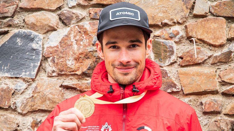 Ski-alpinisme: Iwan Arnold, le chercheur d'or épuisé