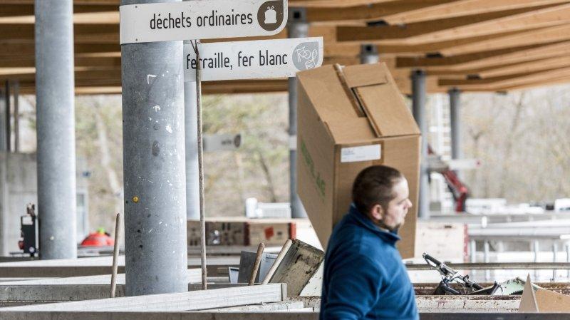 La déchetterie de l'UTO, à Uvrier, est désormais accessible aux citoyens de Sierre.