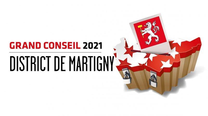 Cantonales 2021: les candidates et candidats au Grand Conseil du district de Martigny