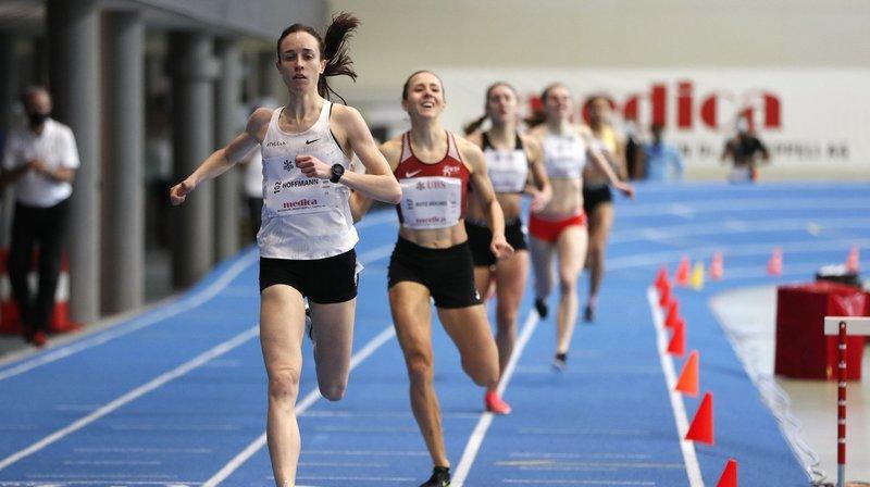 Athlétisme: Lore Hoffmann et Julien Bonvin ramènent trois médailles de Macolin