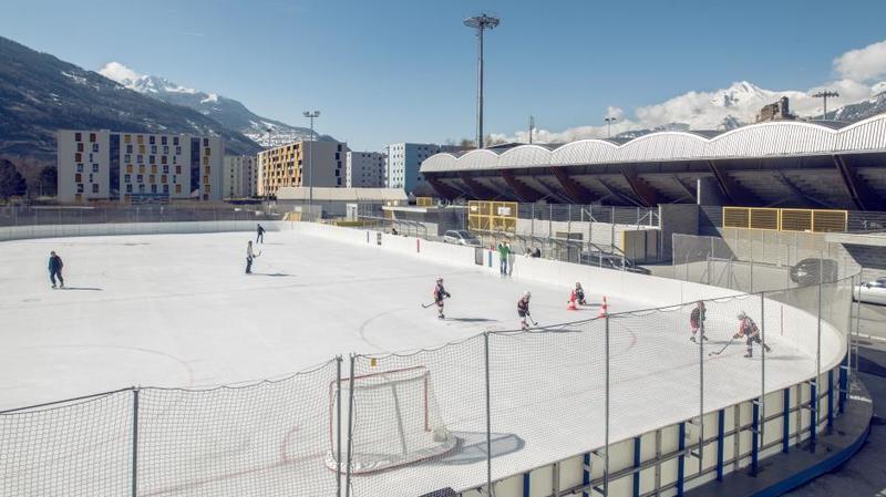La patinoire en plein air de Tourbillon et le Jardin des neiges ferment ce samedi à Sion.
