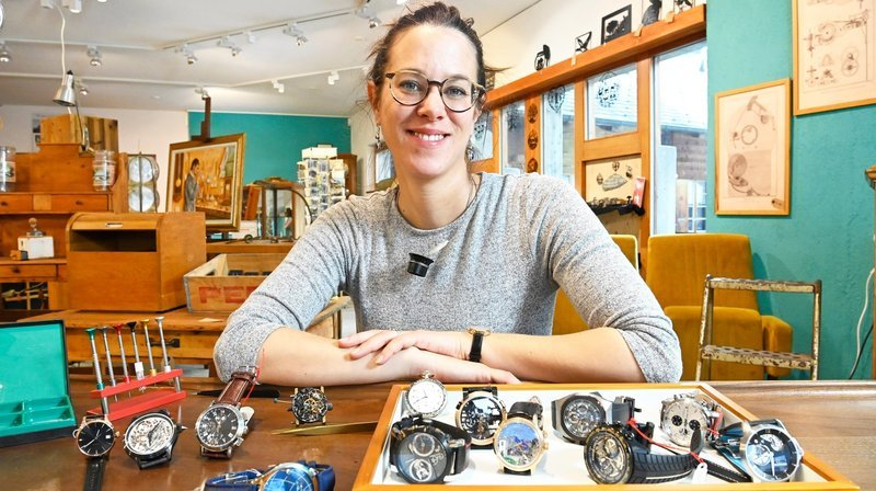 Nos artisans ont du talent: à Champéry, Rosalie Vuilleumier est le maître du temps