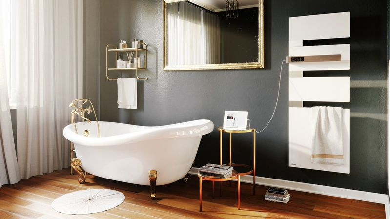 Comment aménager un sèche-serviette dans sa salle de bains?
