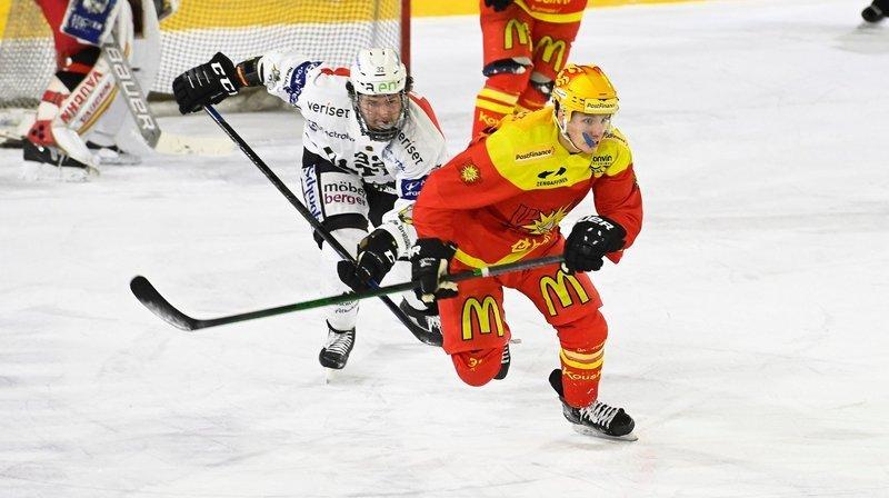 Hockey: la série, pour Sierre, s'annonce très compliquée face à Olten