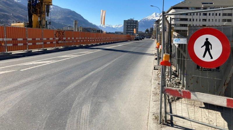 Sion: l'avenue de Tourbillon fermée aux piétons pour plusieurs années