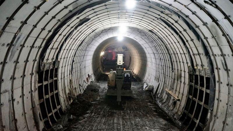 Les deux tubes de Riedberg sont creusés.