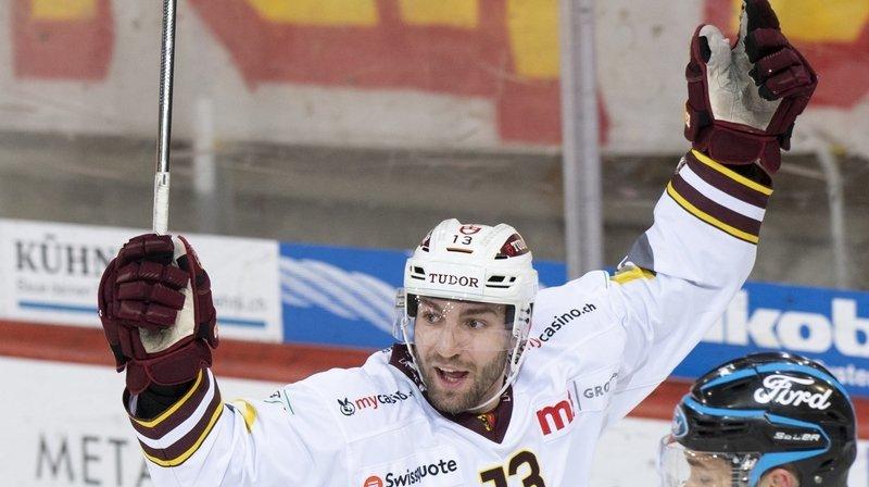 Hockey: «J'étais sûr à 100% d'avoir dévié ce puck», Mathieu Vouillamoz après son premier but en National League