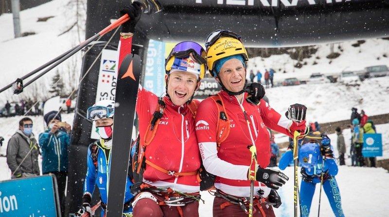 Mondiaux de ski-alpinisme: Rémi Bonnet et Werner Marti en argent, un duo valaisan 7e