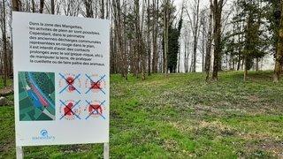 Pollution aux Mangettes à Monthey: les panneaux ont été posés