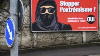 Votations fédérales - Initiative anti-burqa: la carte des résultats en Valais, commune par commune