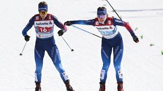 Ski nordique – Mondiaux d'Oberstdorf: Fähndrich et van der Graaff en argent, un exploit historique