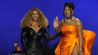 Beyoncé, Taylor Swift et Megan Thee Stallion reines des Grammys Awards
