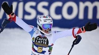 Michelle Gisin 3e du slalom de Lenzerheide remporté par Katharina Liensberger