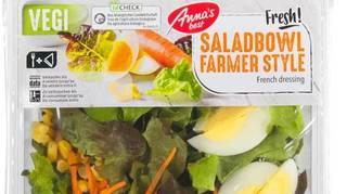 Rappel de produits: des listérias dans une salade de la Migros