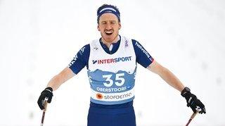 Ski nordique: Candide Pralong très content au terme des Mondiaux d'Oberstdorf