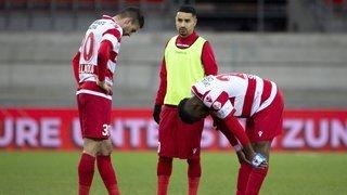 FC Sion: les notes des joueurs lors du match contre le Servette FC
