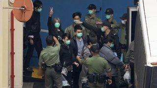 Emprisonnement de  47 militants prodémocratie