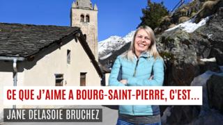 «Ce que j'aime à Bourg-Saint-Pierre, c'est…»
