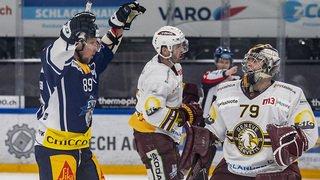 Hockey: Genève battu chez le leader Zoug, Lausanne s'impose face à Langnau