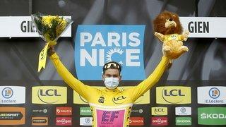 Cyclisme: le Suisse Stefan Bissegger remporte la 3e étape de Paris-Nice et se pare de jaune