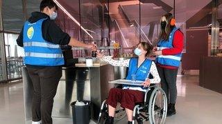 Sierre: les élèves de l'ECCG réfléchissent à des innovations en lien avec le handicap