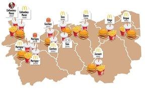 Avec l'arrivée de KFC à Collombey, le Valais devient un peu plus une terre de fast-foods